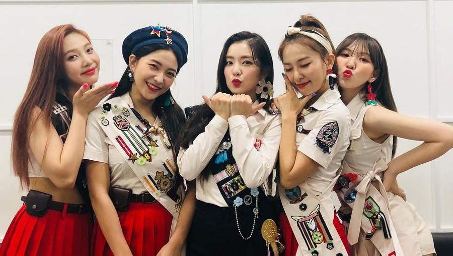5 Isu Pacaran Personel Red Velvet yang Menghebohkan