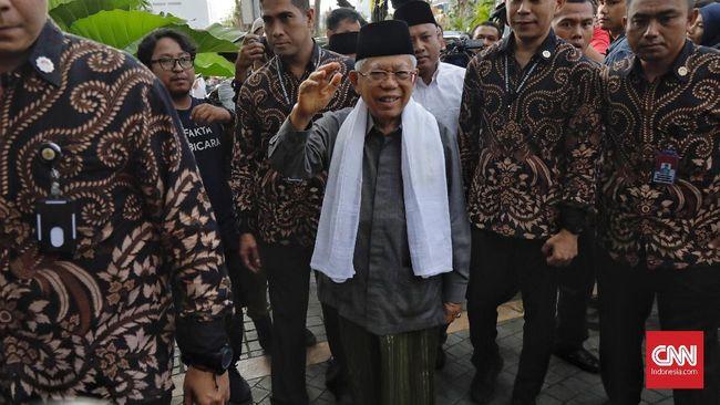 Wapres Ma'ruf Amin akan mengkaji sejumlah usulan dari Gubernur DKI Anies Baswedan terkait penanganan corona di wilayah Jabodetabek.