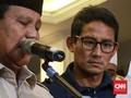 BPN Ungkap Penyebab Wajah Sandi Lesu saat Prabowo Deklarasi
