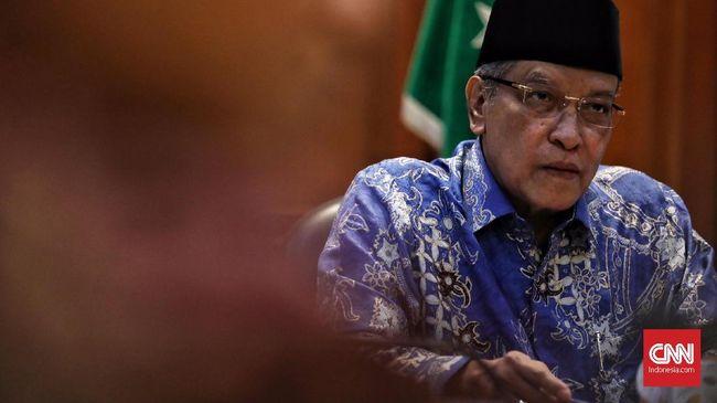 Ketua Umum PBNU Said Aqil Siradj menyebut rencana larangan penggunaan cadar merupakan urusan Kementerian Agama. Pihaknya setuju jika hal itu dianggap positif.