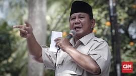 Prabowo: Bukan Ketum, Gerindra Besar Berkat Suarakan Rakyat