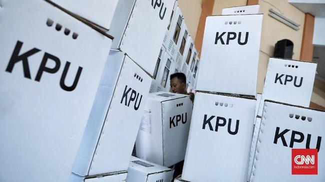KPU mencatat banyak sekali kertas yang digunakan untuk Pemilu 2019, yaitu untuk 978.471.901 lembar surat suara, 4.134.655 kotak suara, dan 2.281.776 bilik suara