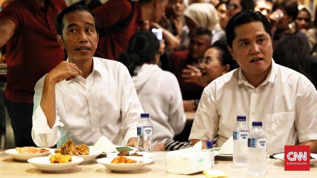 Usai menyantap Nasi Padang di Grand Indonesia, Presiden Jokowi disebut bakal naik MRT menuju Lebak Bulus.