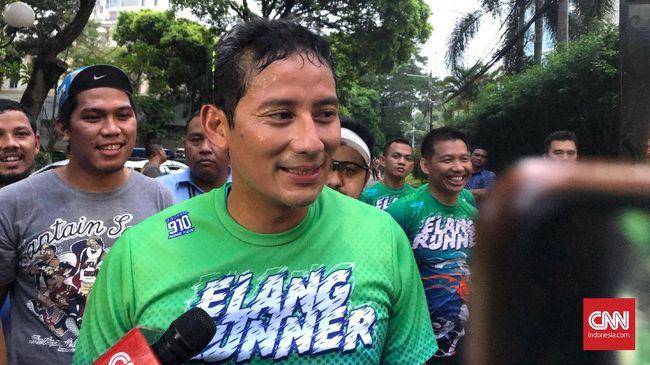 Menanggapi isu dirinya kembali ke kursi Wagub DKI Jakarta, Sandiaga Uno menyatakan