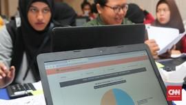 Real Count KPU 54 Persen: Jokowi 56,19 dan Prabowo 43,81