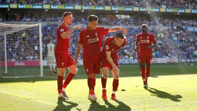 Liverpool menjadi tim paling bersih dalam hal total pelanggaran dan kartu kuning serta merah yang mereka terima di Liga Inggris 2018/2019.