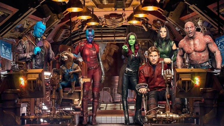 Guardians of the Galaxy Vol. 2. Dirilis pada 2017 lalu, film yang dibintangi Chris Pratt dan Zoe Saldana ini berhasil mendapat penghasilan hingga Rp12,1 triliun.
