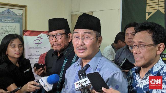 Ketua ICMI, Jimly Asshiddiqie menyebut pertemuan yang diinisiasi Wapres JK dilakukan guna meredakan ketegangan pascapemilu 2019.