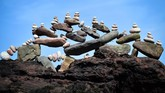 Kejuaraan menyusun batu di Eropa baru saja usai dilaksanakan di Skotlandia akhir April kemarin, semua jagoan susun batu 'turun gunung' unjuk kebolehan.