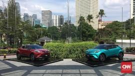 Toyota C-HR <i>Hybrid</i> Tak Diproduksi Lokal
