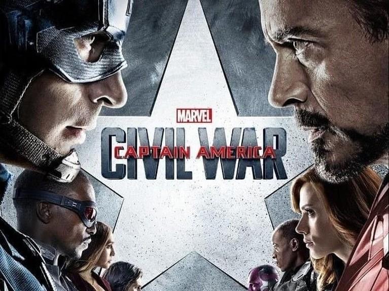 Captain America: Civil War. Mendapat antuasis yang besar, film ini berhasil mengantongi lebih dari Rp16,1 triliun.