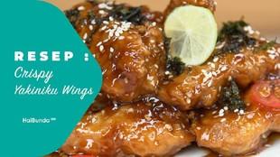 Resep Crispy Yakiniku Wings