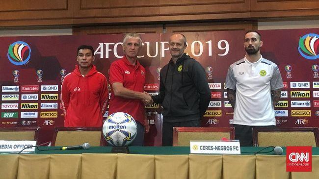 Pelatih Persija Jakarta, Ivan Kolev, menyebut Ceres Negros sebagai tim Eropa jelang pertandingan di fase grup Piala AFC yang akan berlangsung Selasa (23/4).