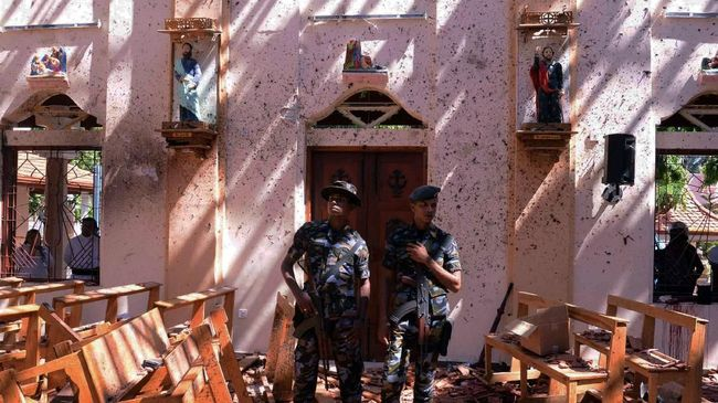Usai Bom Paskah, Sri Lanka Deklarasikan Situasi Darurat
