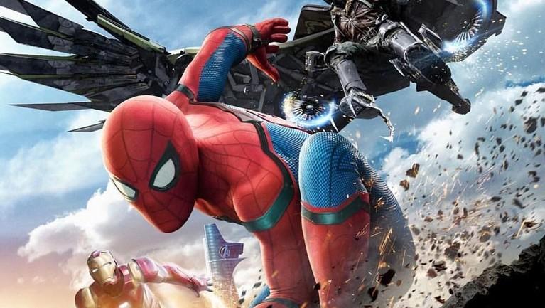Spider-Man: Homecoming. Mendapat hingga lebih dari Rp12,3 triliun, hal ini membuktikan jika Spiderman berhasil merebut banyak hati para pecinta film dunia.