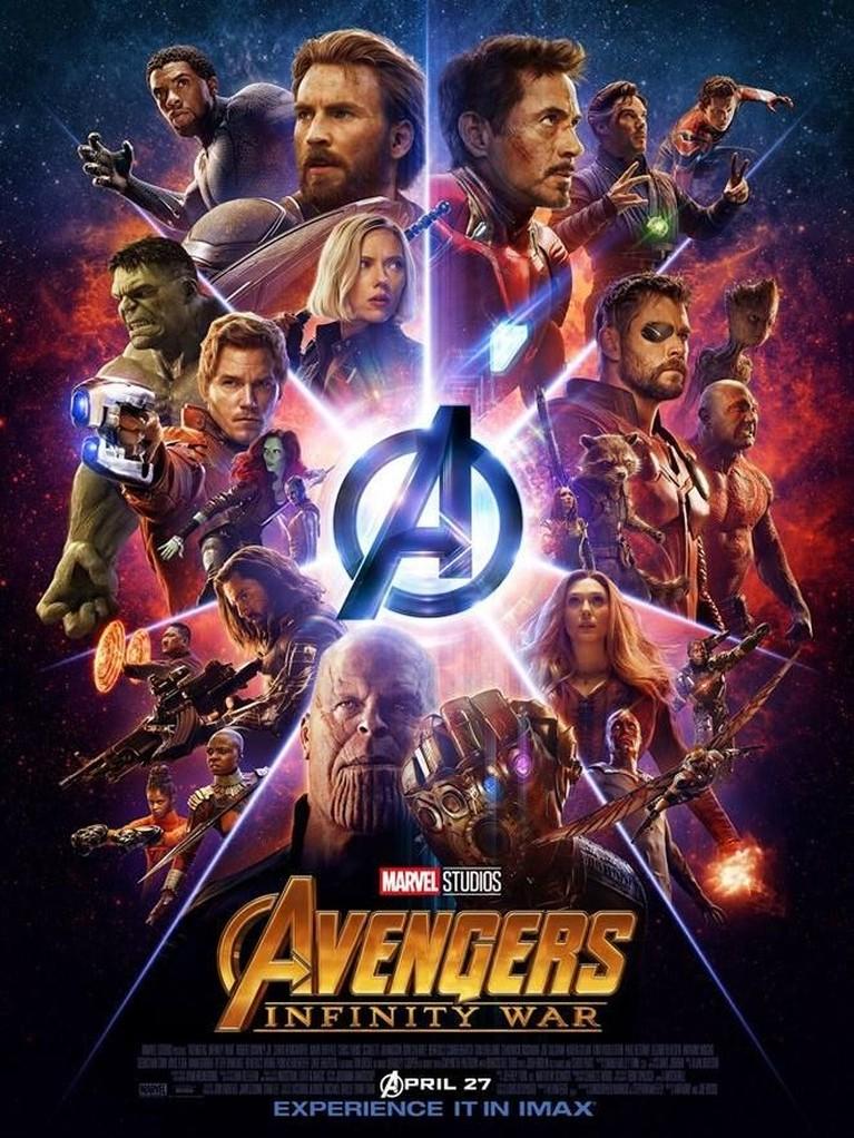 Avengers: Infinity War. Dan film Marvel dengan pendapatan tertinggi adalah Avengers: Infinity War yang berhasil meraup lebih dari Rp28,8 triliun. Film ini juga berhasil memenangkan beberapa penghargaan dari ajang ternama dunia.