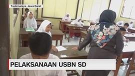 VIDEO: Ujian Sekolah Dasar Disatukan Tiga Sekolah