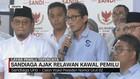 VIDEO: Sandi Imbau Relawan Kawal Penghitungan Suara KPU