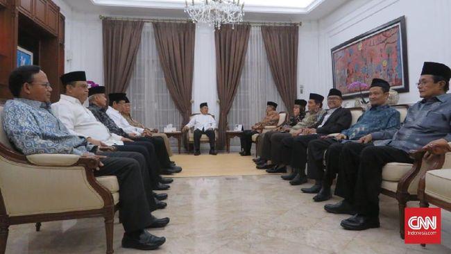 Pertemuan antara Jusuf Kalla dan Ormas Islam digelar tertutup, namun diketahui akan membahas situasi terkini usai gelaran Pemilu 2019.