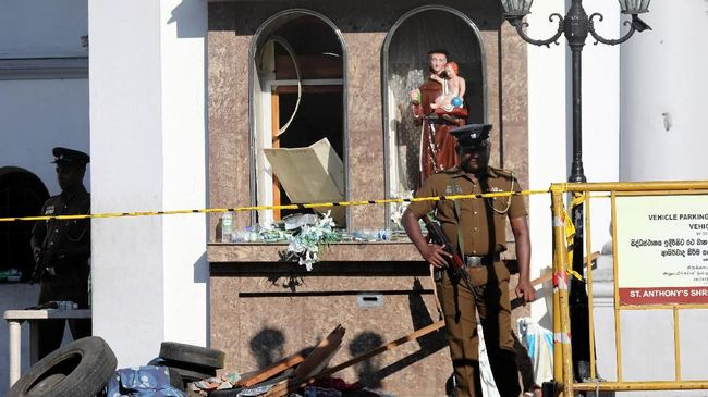 Sri Lanka Buru 140 Simpatisan ISIS Terkait Bom Paskah