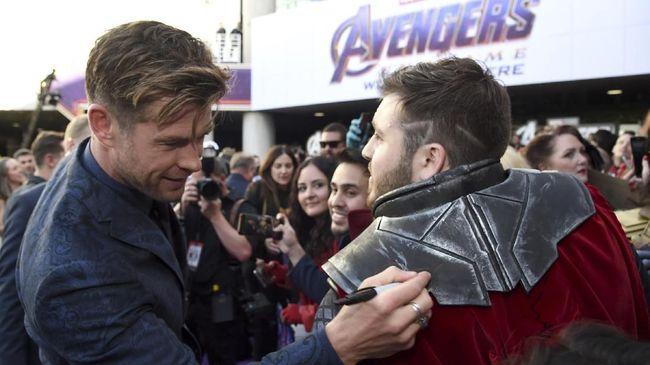 Chris Hemsworth punya menu latihan dan diet khusus yang dilakoni demi Avengers: Endgame.
