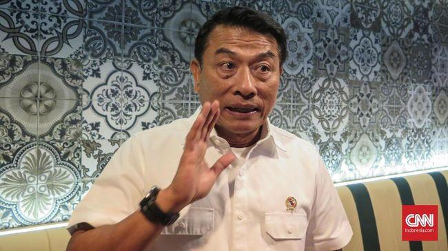 Menurut Moeldoko bisa saja dalam pertemuan Jokowi dengan AHY yang berlangsung empat mata nanti membahas konsolidasi pemerintahan usai Pemilu 2019.