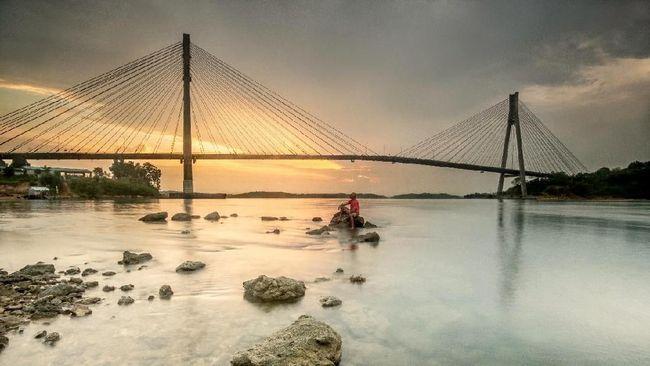 Kementerian PUPR menyebut anggaran proyek jembatan Batam-Bintan bengkak 55,5 persen menjadi Rp13,66 triliun setelah melihat kelayakan teknis.