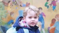 <p>Kate Middleton mengabadikan momen hari pertama Pangeran George masukWestacre Montessori. (Foto: Instagram @kensingtonroyal)</p>