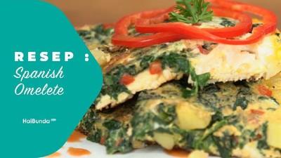 Resep Spanish Omelete