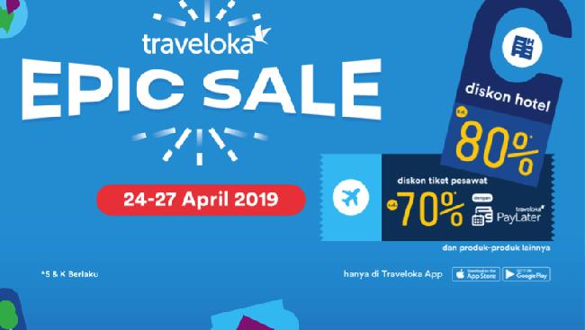 Diskon Hotel Hingga 80 Pakai Promo Traveloka Epic Sale