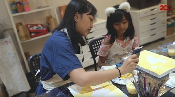 Serunya Anak Kepo Mengasah Bakat di Kelas Kesenian