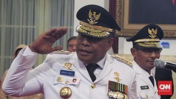 Video Viral, Gubernur Maluku Bentak Protokoler Istana