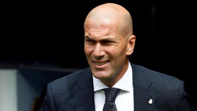 Pelatih Real Madrid, Zinedine Zidane, melontarkan sindiran terhadap Barcelona terkait klub yang paling sukses di La Liga Spanyol 2018/2019.