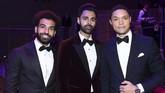 Winger Liverpool Mohamed Salah pesta dengan sejumlah nama tenar dalam Gala 100 orang paling berpengaruh versi majalah Time di New York, Amerika Serikat.