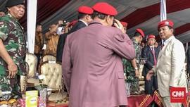 Prabowo, Hendropriyono dan Barisan Jenderal di HUT Kopassus