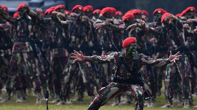 Sejumlah tokoh mengucapkan HUT ke-69 bagi Kopassus TNI AD, seperti Menko Maritim Luhut Pandjaitan, Menhan Prabowo, Panglima TNI, hingga Wapres Ma'ruf Amin.