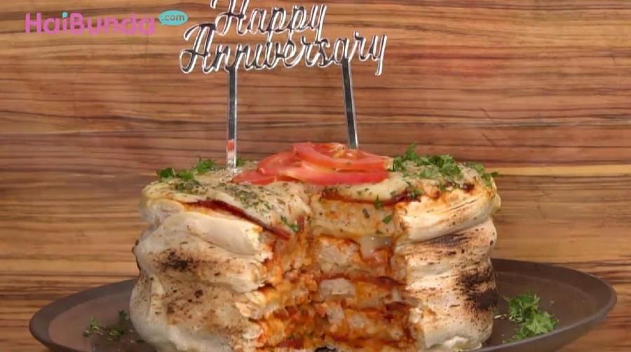 Resep Pizza Cake, Kue Ultah Unik nan Spesial untuk Si Kecil