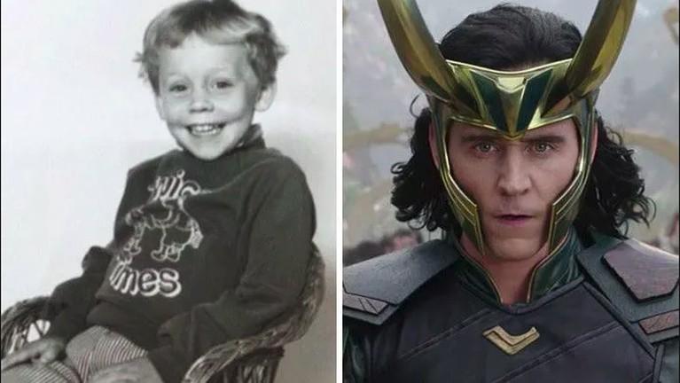 Meskipunterkadang menjadi penjahat dan Tom Hiddleston ini kadang juga menjadi hero, dan tampaknya jiwa humorin pemeran Loki ini sudah terlihat sedari kecil.