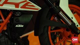 Produksi Motor KTM di Indonesia Tertunda Corona
