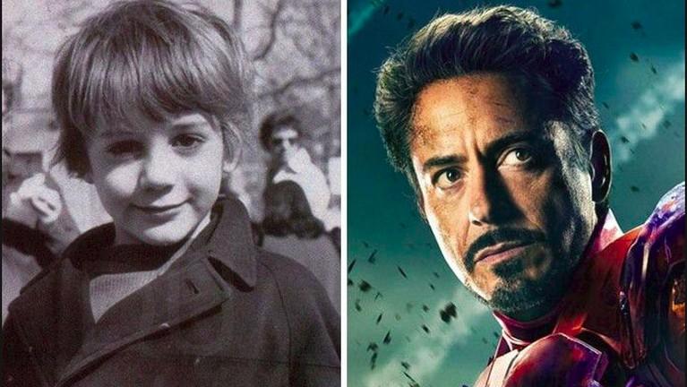 Sepertiteman-temannya yang lain, Robert Downey Jr juga memiliki wajah imut sewaktu kecil. Sangat berbeda sekali ya saat ia memeran kan Iron Man di MCU pertama kali.