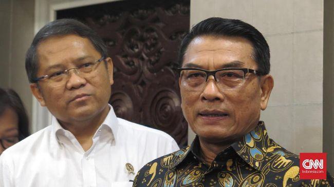 Kepala Kantor Staf Presiden Moeldoko meminta publik bersabar mengenai rencana penerbitan Perppu KPK oleh Presiden Joko Widodo.