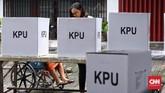 Komisi Pemilihan Umum (KPU) melakukan pemungutan suara ulang (PSU) Pemilu 2019 di 393 tempat pemungutan suara (TPS) di seluruh Indonesia, termasuk Jakarta.
