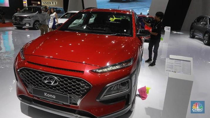 Hyundai Kona (CNBC Indonesia/Muhammad Sabki)