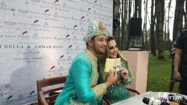 Selang dua bulan, pasangan Ammar Zoni dan Irish Bella mantap untuk membangun rumah tangga. Mereka melangsungkan pernikahan pada 28 April 2019.