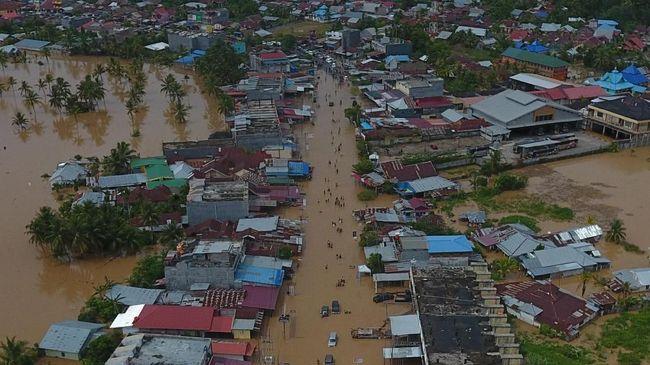 Banjir Bengkulu Renggut 10 Nyawa