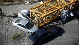 Crane di Proyek Gedung Google Jatuh, 4 Tewas