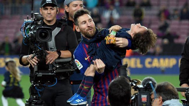 Lionel Messi berpeluang mencetak rekor baru saat Barcelona dijamu Liverpool pada leg kedua semifinal Liga Champions di Stadion Anfield.
