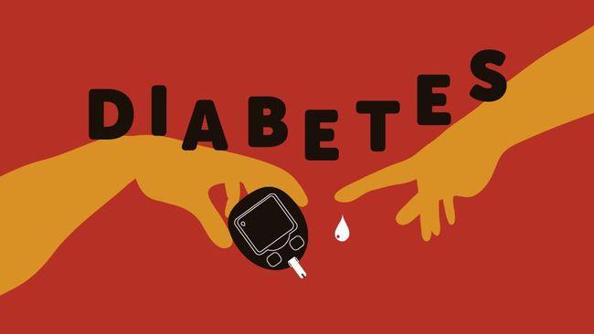 Infografis Kategori Diabetes yang Boleh dan Tidak Dianjurkan Berpuasa