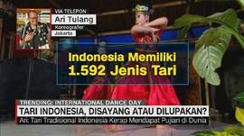 VIDEO: Tari indonesia, Disayang atau Dilupakan?