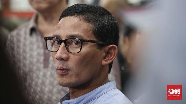 Sandiaga Uno terpilih menggantikan Wishnutama sebagai Menteri Pariwisata dan Ekonomi Kreatif dalam pengumuman reshuffle kabinet pada Selasa (22/12).